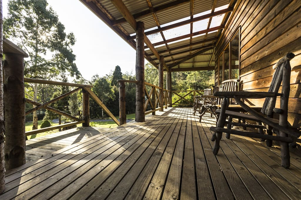 The Deck at the Lodge