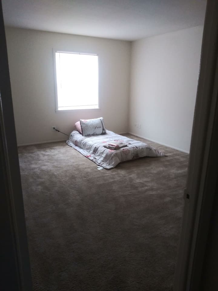 Bedroom in house near Mission Bend