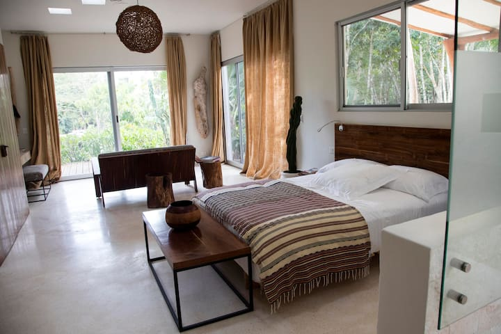 Tulum jungle hideaway *Casa Uh May* - Francisco Uh May - 家庭式旅館
