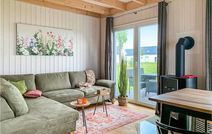Awesome home in OstseeResort Olpenitz with Sauna, WiFi and 2 Bedrooms