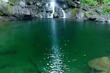Bassin caché à 40 mn de marche