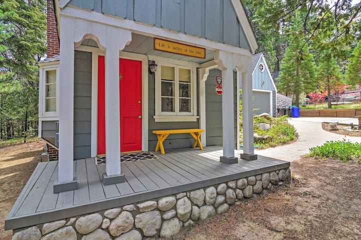 'Cobblestone Cottage' - 2BR Lake Arrowhead Cottage - Lake Arrowhead  - Huis
