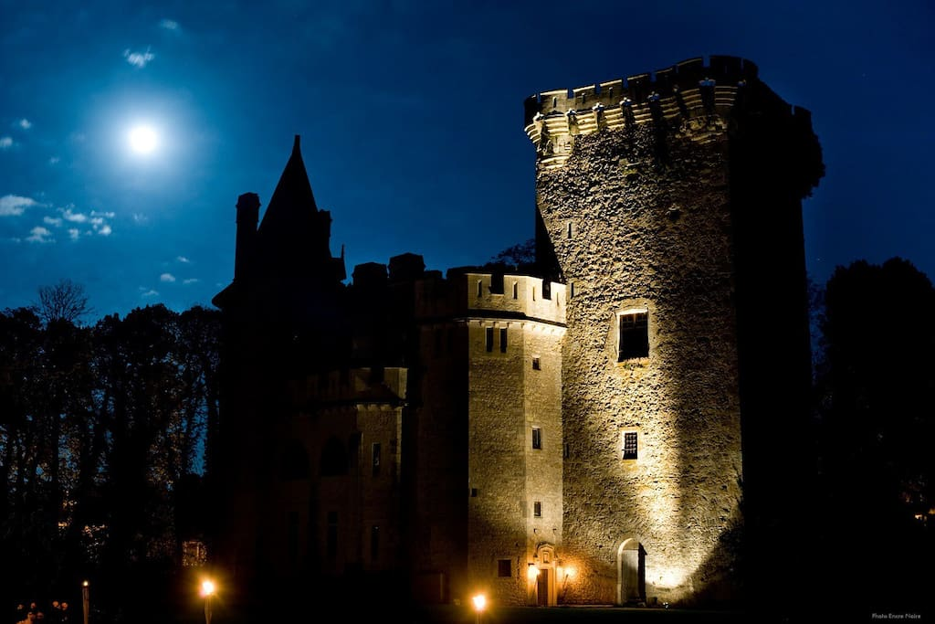 The keep by night