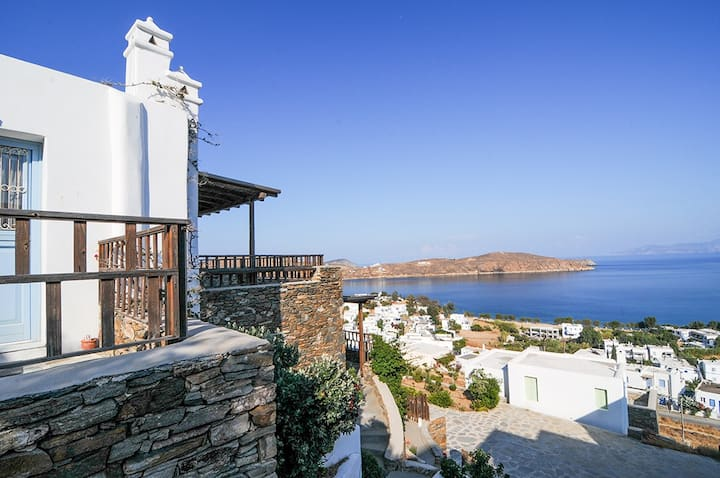 Harmony house  with spectacular  sea view, serifos