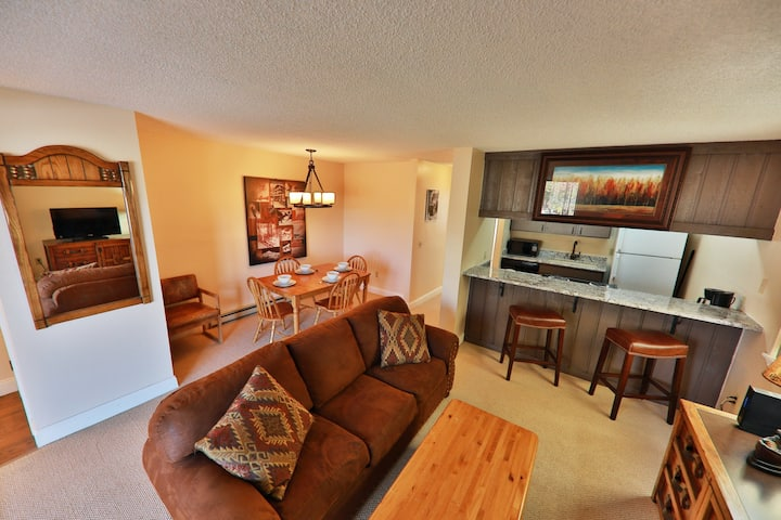 Newly-Remodeled Condo w/Free WiFi, Fireplace, Shared W/D, 2 Hot Tubs, Pool
