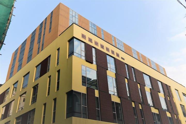 澳门新东方商务宾馆南座-高级客房双床(入住2位成人)-近喷水池和大三巴