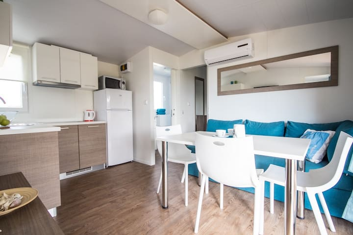 Mobile Home 5605 for 4+2 Persons - Umag - Daire