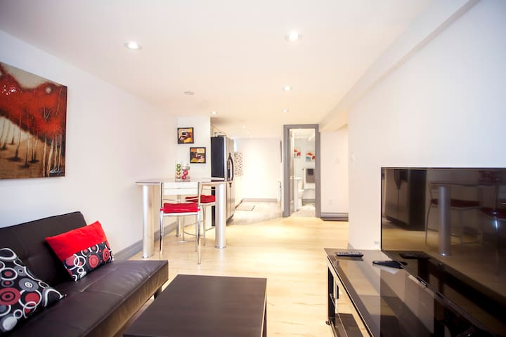 Very nice basement apartment