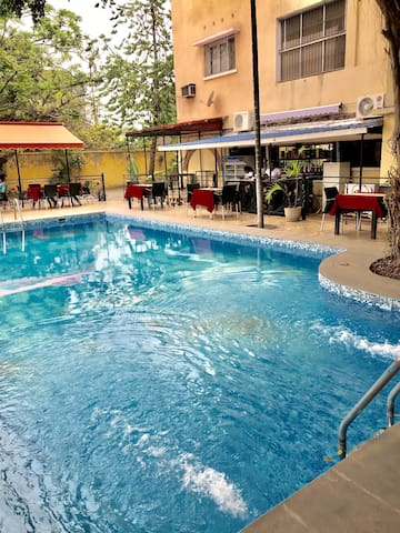 ✷Kin Gombe✷Chambre comfortable+belle piscine
