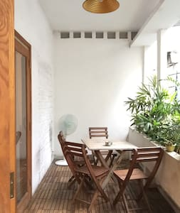 Private room with green balcony. - Ho-Chi-Minh-Stadt