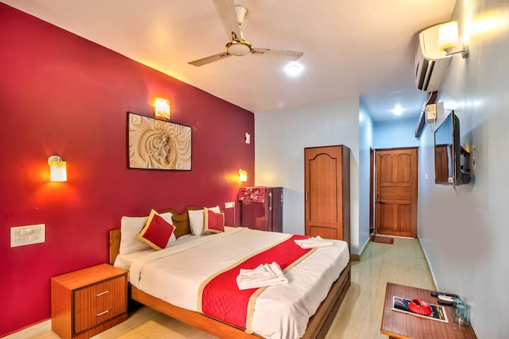 Baga Beach - Luxury rooms next to Brittos