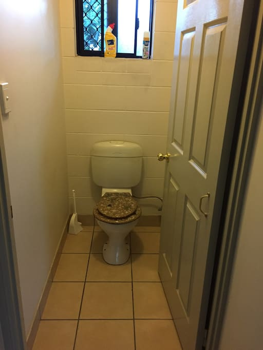 Own toilet
