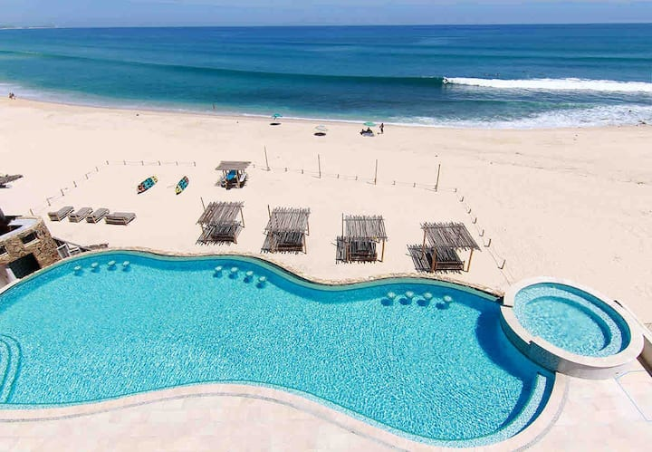 Oceanfront Swimmable Beach Paradise CostaAzul Cabo