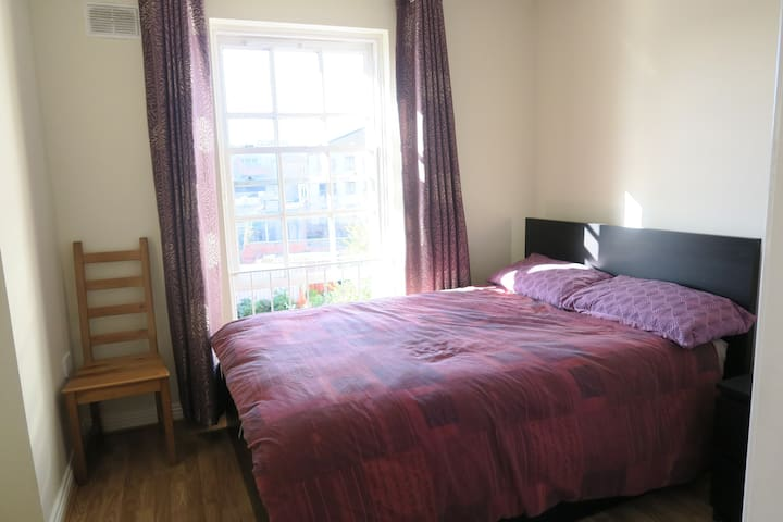 City centre lovely and bright double bedroom