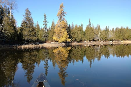 Wonderful getaway on motor-free Saddleback Lake