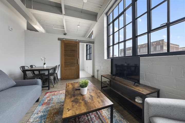 Industrial Loft Apartments in the BEAUTIFUL NEW Superior Building! #318