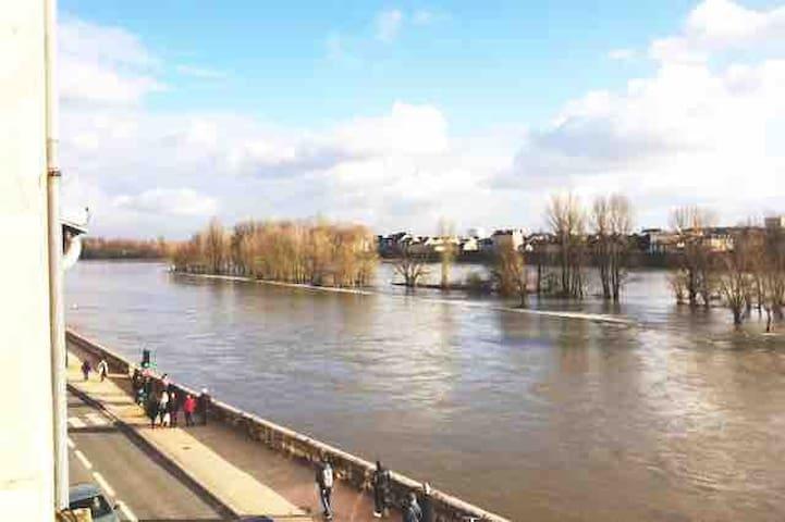 Appartement rénové - Vue sur la Loire