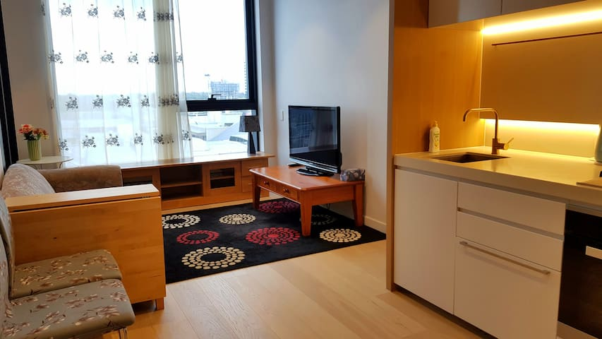 SkyOne 全新公寓 超低价 舒适1.8米大床 私家车位20