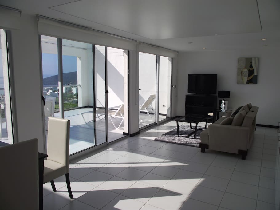 View of lounge from Kitchen are