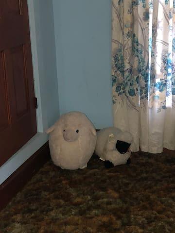 Black Bear Den.... Sheep room...room four.