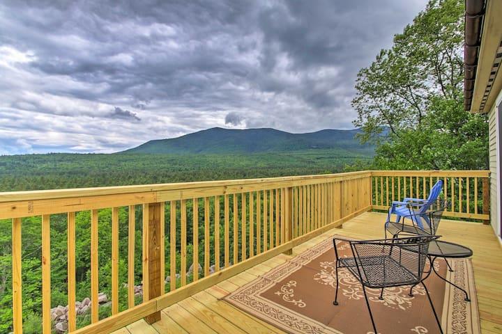North Conway Family Condo w/ 3 Decks & Mtn Views!