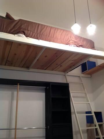 Habitación en condesa techito
