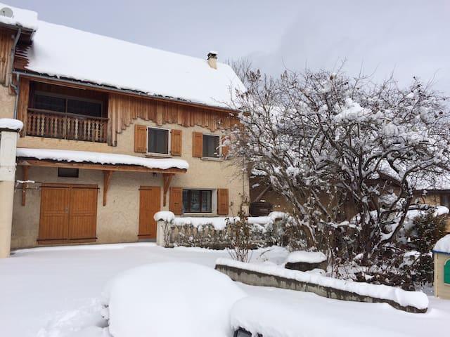Maison au pied de la montagne - Valgaudemar (05) - Chauffayer - Huis