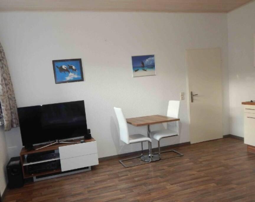 Holiday apartment with swimming hall appartementen te huur in oberteuringen baden w rttemberg - Kitchenette met stoelen ...