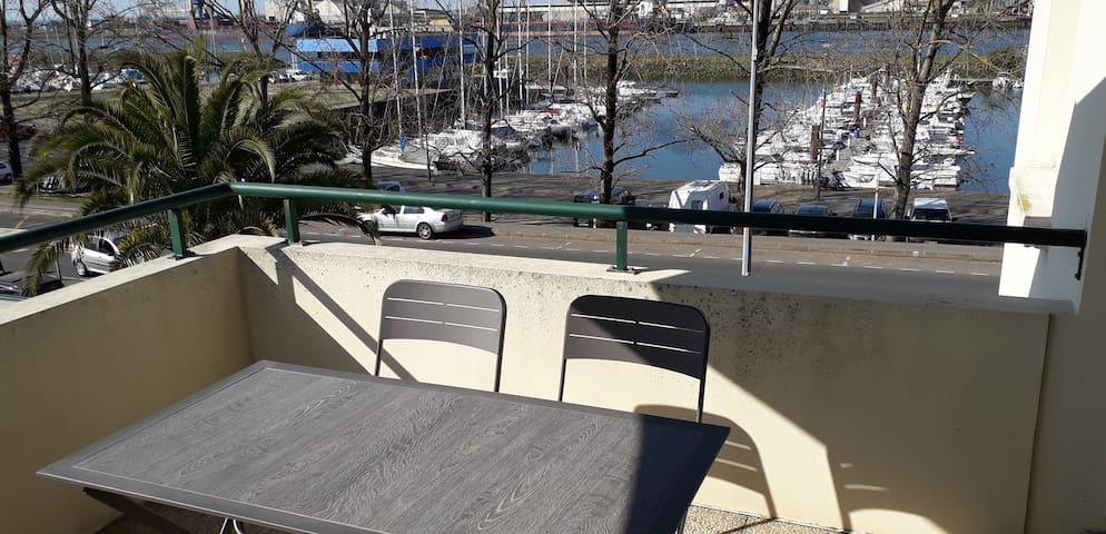 T3 tout confort face au port de Plaisance d'Anglet