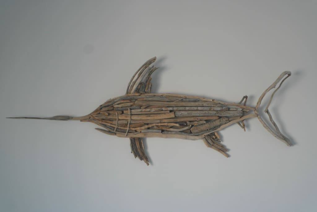Driftwood decoration handmade with love :)