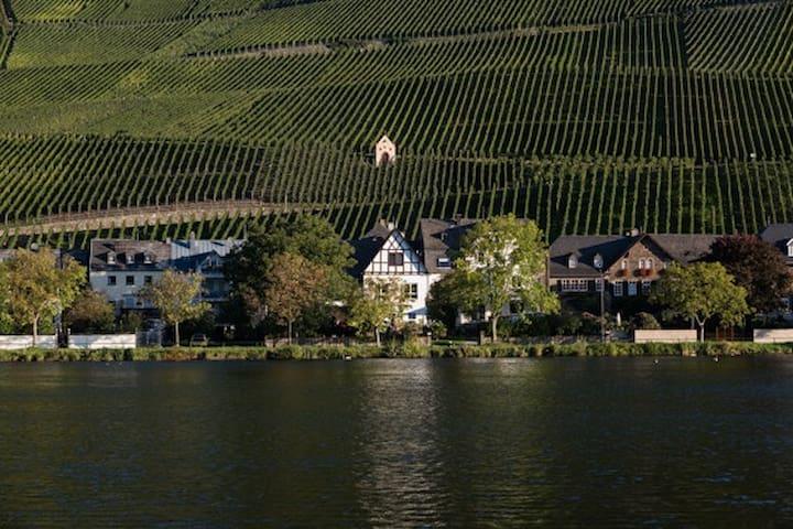 Urlaub im Weingut Reuscher-Haart in Piesport direkt an der Mosel