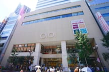 Marui, a large department store, is located just 3 min walk away! Buy groceries, clothes, bags, shoes, Muji goods, glasses, cosmetics, food, desserts, gifts, and dine at their various restaurants.