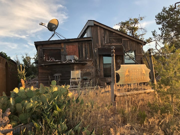 MountainTOP studio tiny home VIEWS