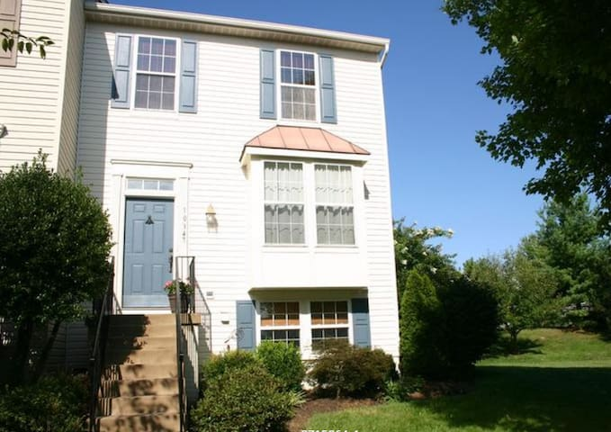 Sunny Downstairs Apartment--A Floor to Yourself! - Manassas - Apartamento