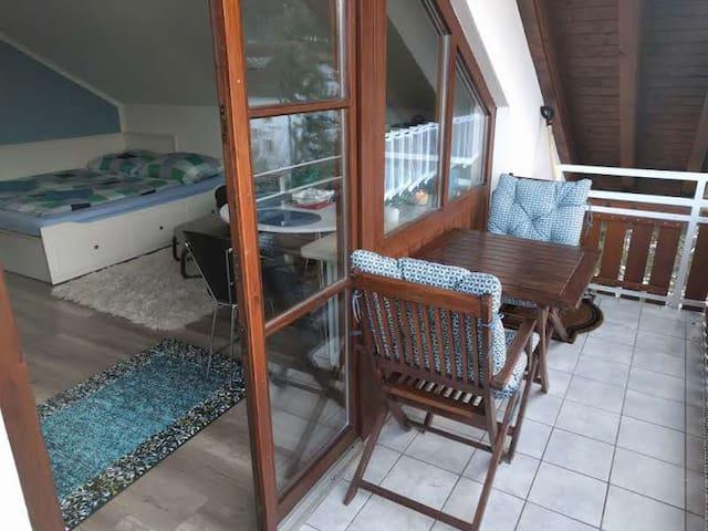 Comfortable Studio with Balcony!