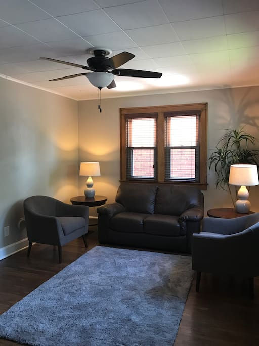 Living Room w/ Sofa and Chairs