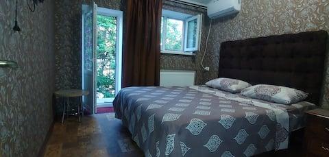 Апартаменты для двух человек в центре города