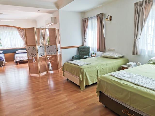 Beach Vacation villa suite  650sq.ft  海边度假别墅60㎡套房