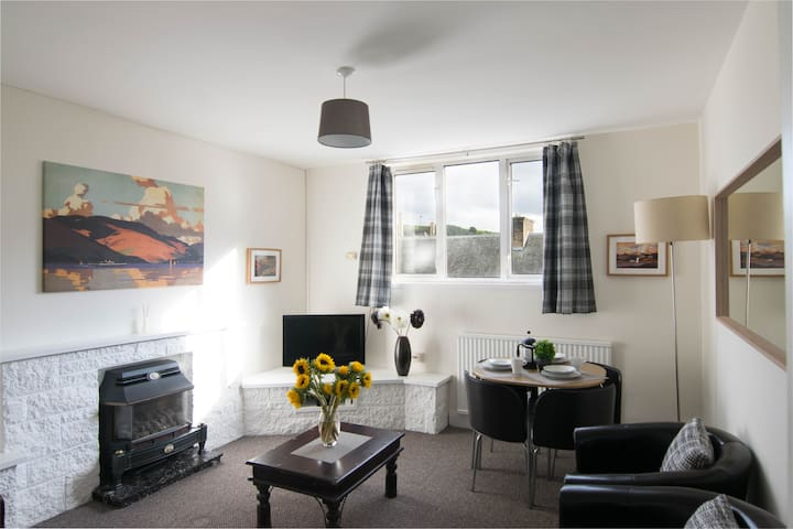 Quiet, Convenient, 2-bed Hawick Flat
