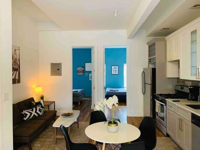 Clean and Stylish 2BR in Brooklyn