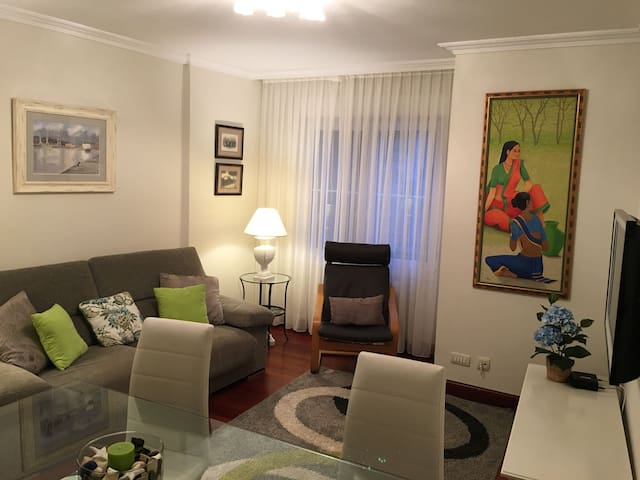 Flat-Apartament 90mts2 - Gorliz - Apartment