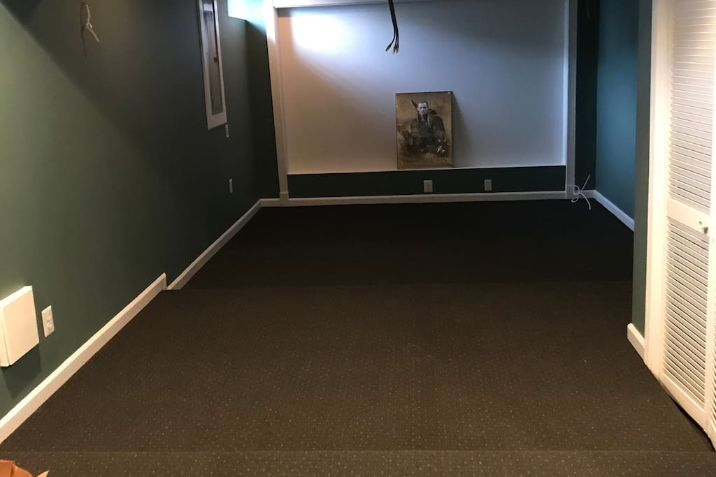 Media Room under construction