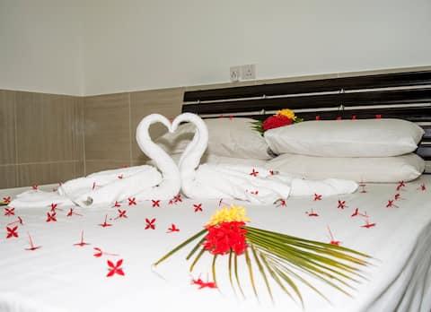 Room Apartment in Maldive island.