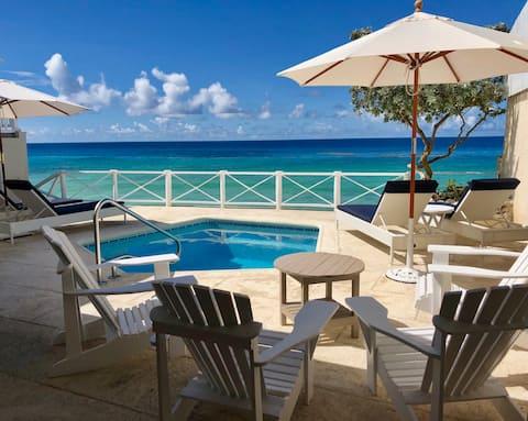 Beautifully restored Barbadian seaside home