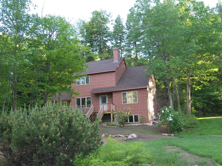 Beach on Newfound Lake & Home with Stone Fireplace