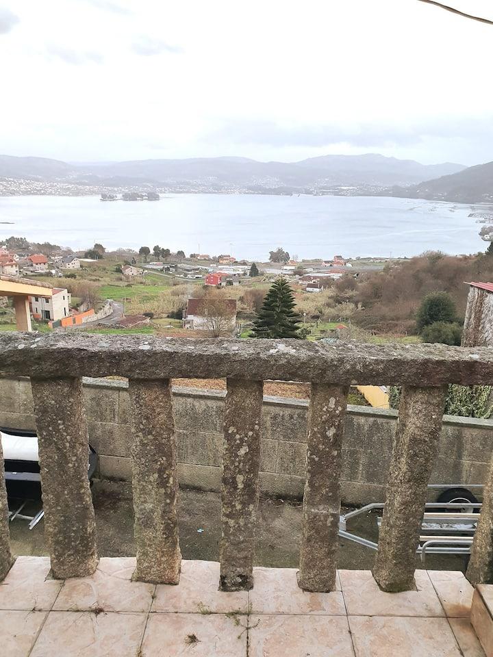 Atalaya sobre la Ría de Vigo