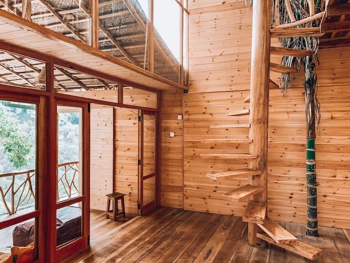Double Treehouse duplex 11 people