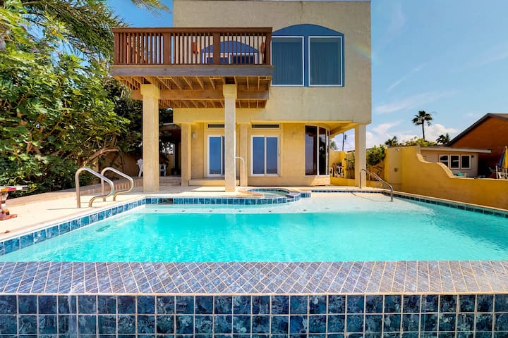 NEW LISTING! Waterfront home w/ private pool - close to water park