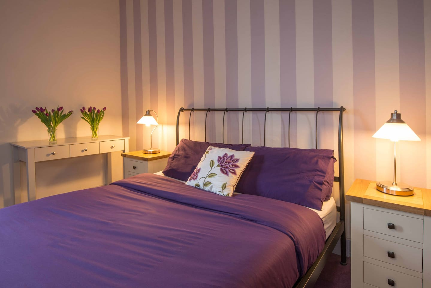 Room 3 - triple ensuite (double bed and single bed)