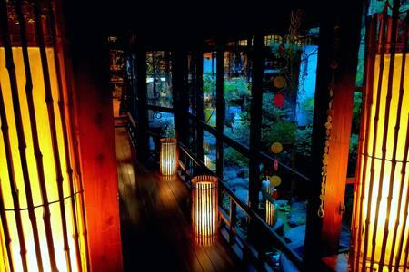 Antique Art Space Ryokan & Japanese Moss Garden